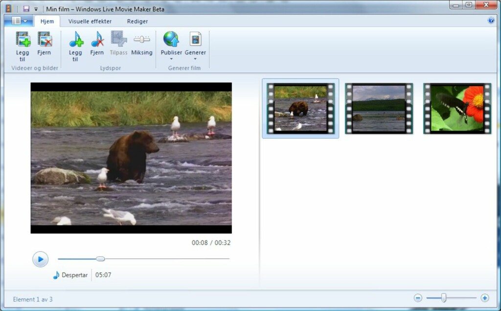 Windows Live Movie Maker er rett og slett alt for puslete, mener vi.