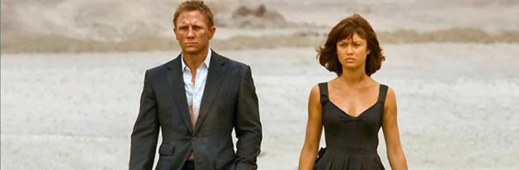 Vet du hvor ørkenscenene i den siste Bond-filmen ble spilt inn? Foto: Sony Pictures