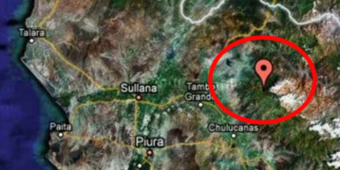 Tapt by funnet i Peru