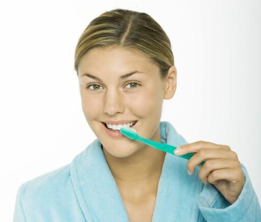 Kvinnehelse: Graviditeten kan slite på tennene - DinSide