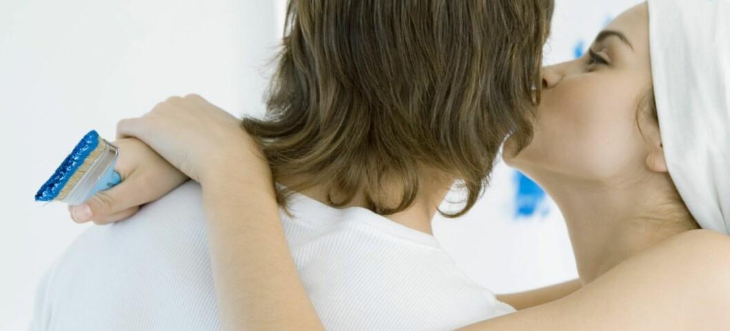 Lag klare avtaler mens dere er stormforelsket.  Foto: Colourbox.com