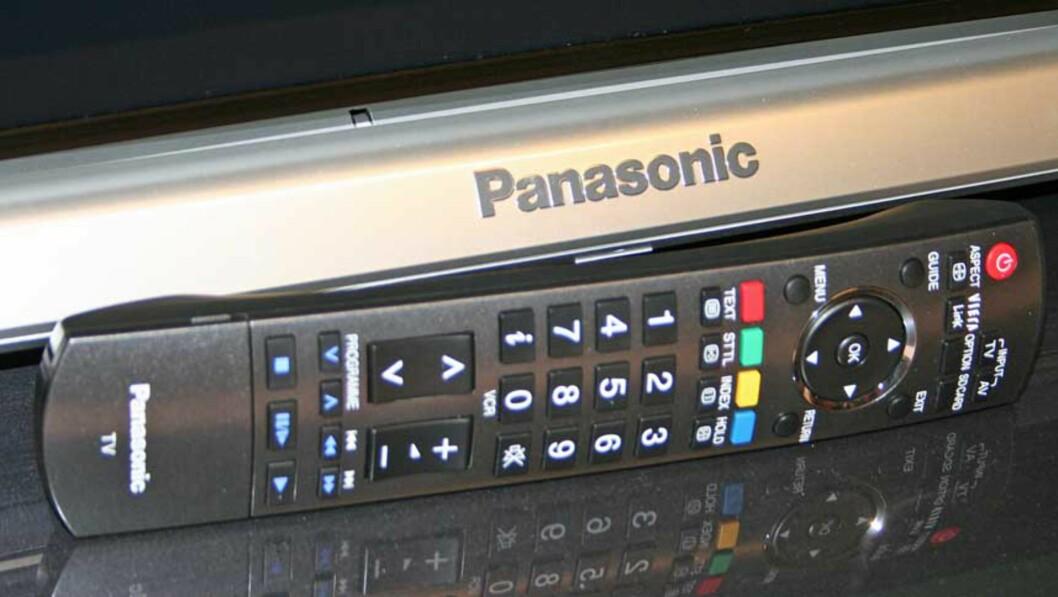 Fjernkontrollen kjenner vi igjen fra tidligere Panasonic-modeller