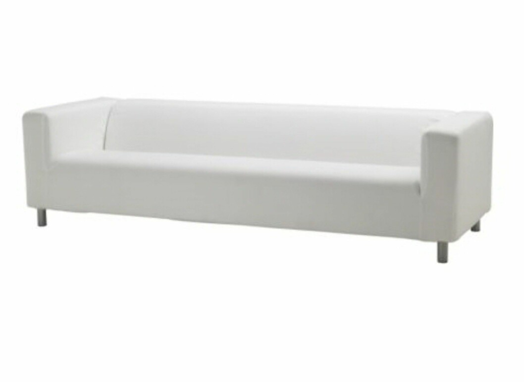 Klippan, helt enkel og grei. Foto: Ikea