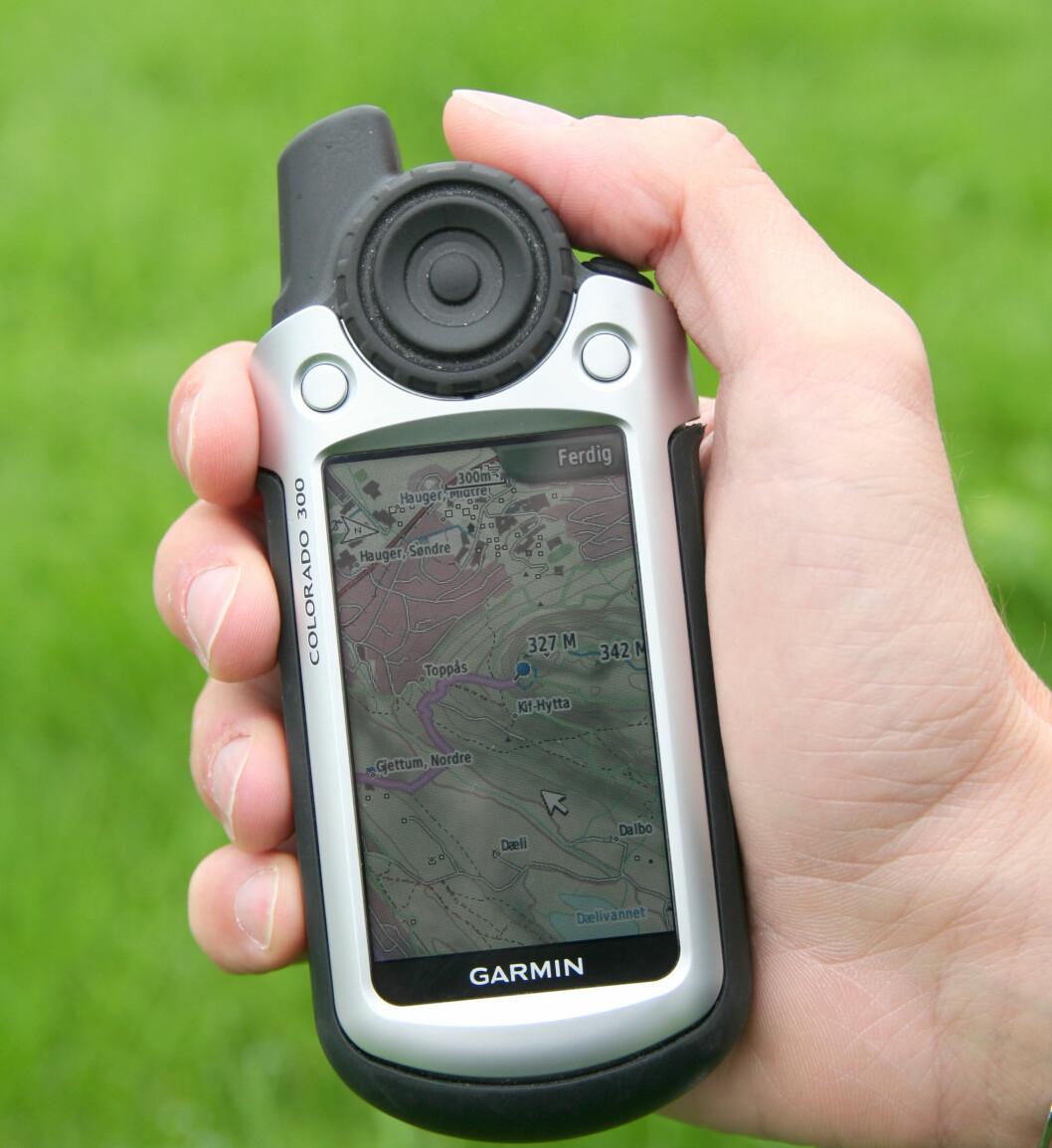 Selv de uten stedsans burde klare å finne ruten med denne nye GPS-tjenesten. Foto: Geodata