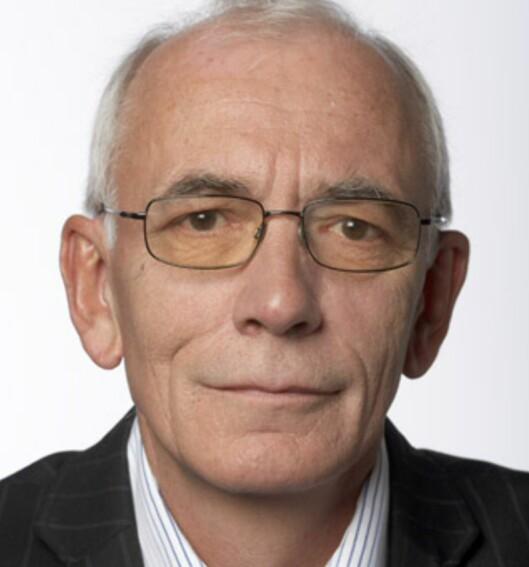 Anders Haslie er formann i Nelfo Oslo.  Foto: Nelfo