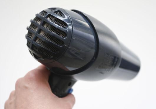 Det er ikke hårføneren som ruinerer deg. Foto: Colourbox.com