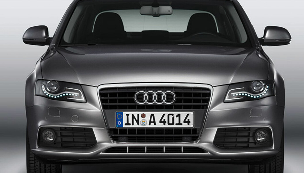 Store bilder av Audis sparekonsept