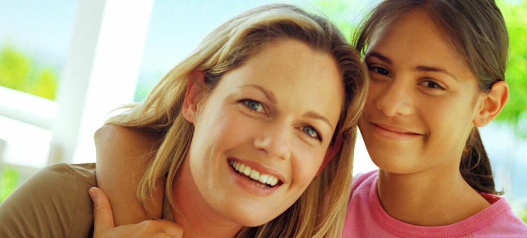 Stolte mødre gir døtrene mer selvtillitt. Foto: Colourbox