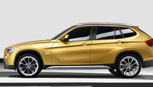 Store bilder: Mindre SUV fra BMW