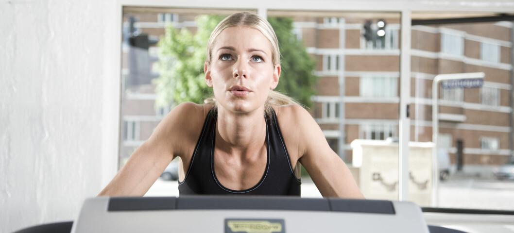 Dersom treningsrutinene dine tar kontrollen over deg, kan det være fare på ferde. Foto: colourbox.com