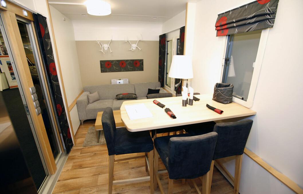 Det ser nesten ut som en leilighet. Foto: Per Ervland