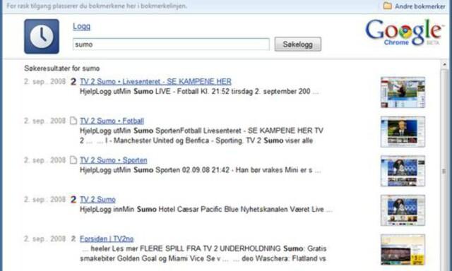 ae9a0e322 Internett: Google Chrome - DinSide