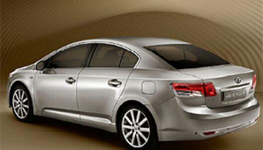 Ny 2009 Avensis