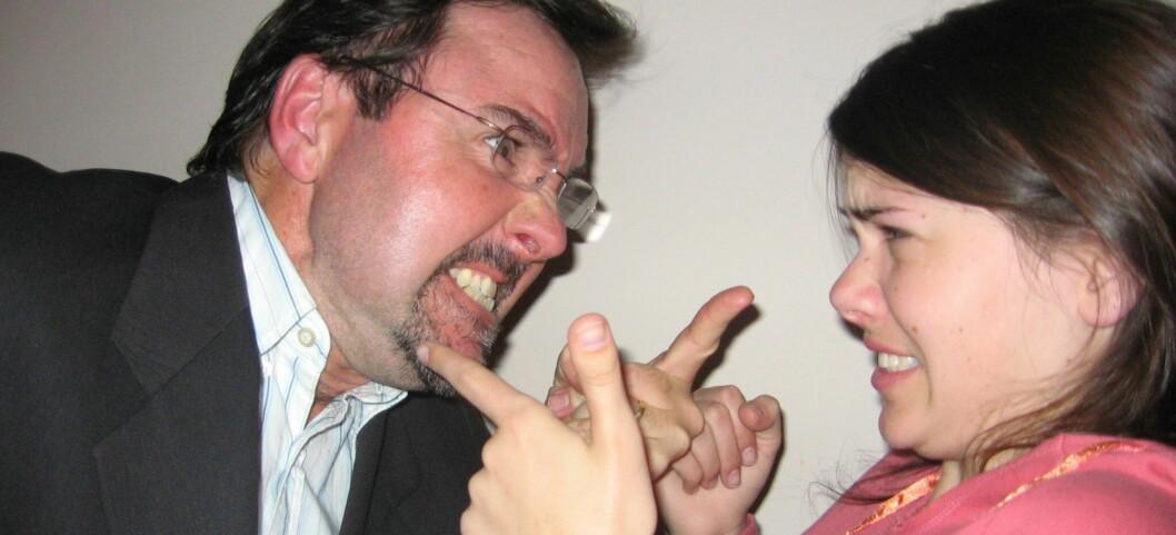 Vi hater lyden av krangling på naborommet ... <i>Illustrasjonsfoto</i> Foto: Colin Adamson