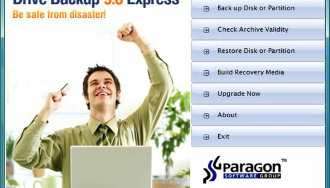 Paragon Drive Backup Express