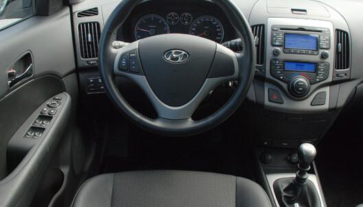 Store bilder av Hyundais rimelige stasjonsvogn