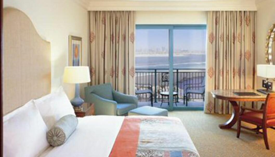 Hotellet har 1.539 rom, alle med havutsikt. Foto: Atlantis The Palm