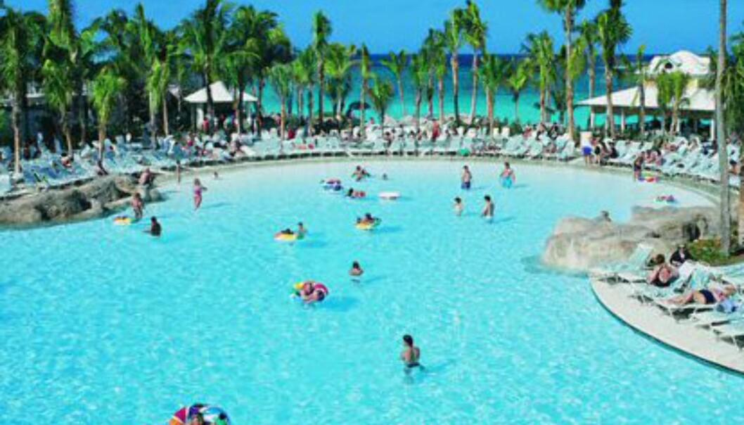 Oversiktelig og barnevennlig.  Foto: Atlantis The Palm