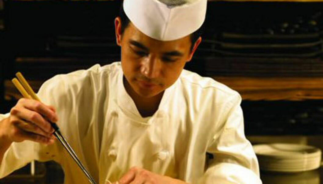 Hotellet har hele 17 restauranter, som serverer mat fra hele verden. En av dem er Nobu, den kjente japanske sushirestauranten som også finnes i London. Foto: Atlantis The Palm