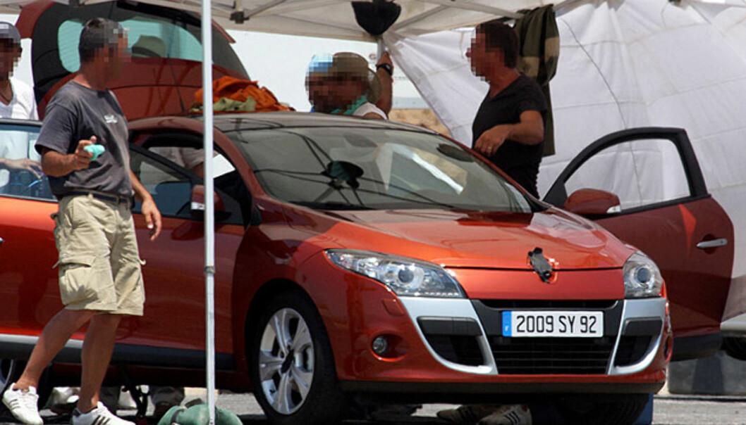 Store avslørende spionbilder av Renault Megane