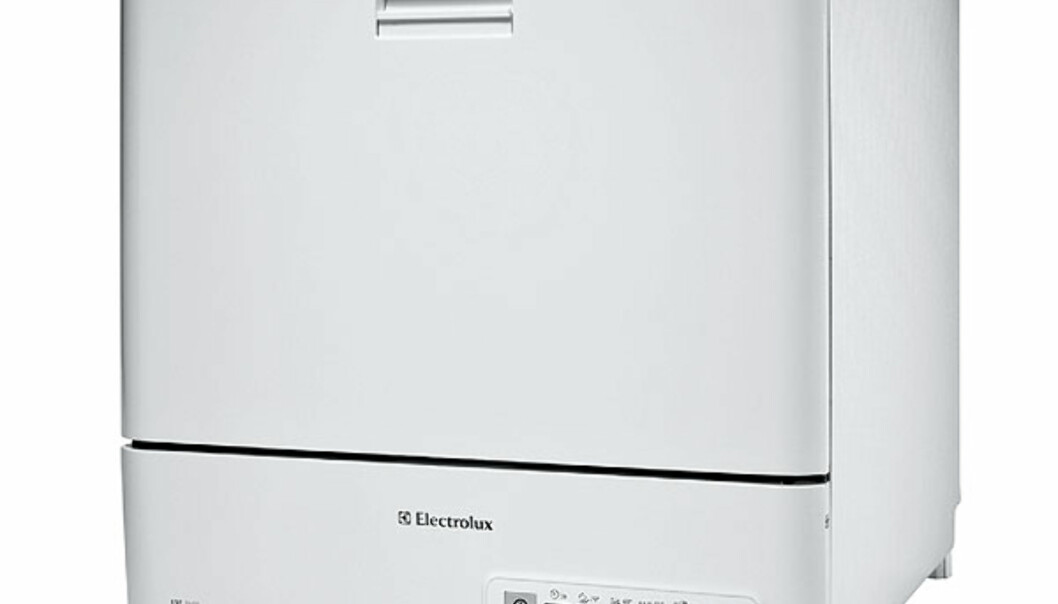 Denne minioppvaskeren fra Electrolux  koster cirka 3.000 kroner.