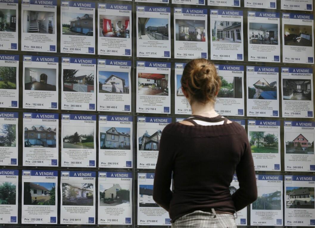 Leieprisene stiger, og aller mest stiger de for dem som er alene på hybeljakt. Foto: Colourbox.com