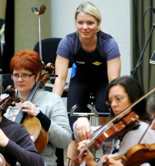 Til toner av Grieg skal det nå spinnes. FOTO: SATS