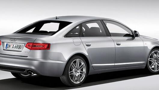 Store bilder av oppdaterte Audi A6