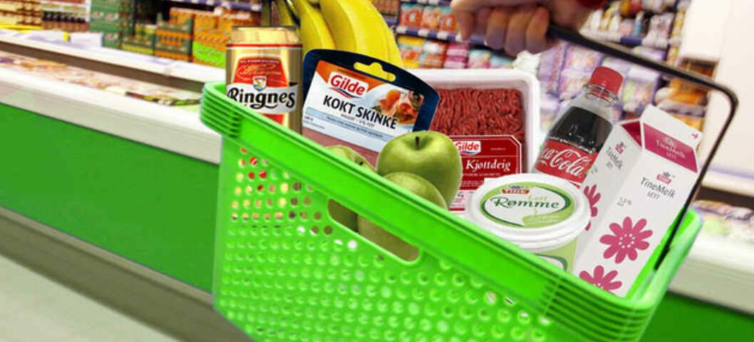 Matvareprisene fortsetter å stige, ifølge tall fra SSB. Foto: Per Ervland