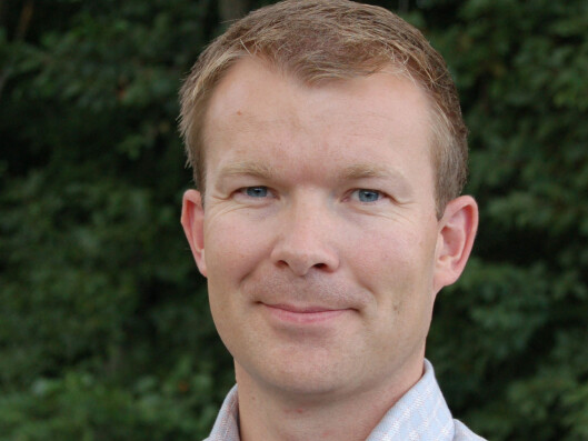 Thomas Mitdeide er kommunikasjonsdirektør i SAS Norge. Foto: SAS