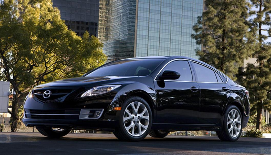 Nyeste Mazda 6 koster under 100.000 kroner i USA - med 2,5-liters motor på 170 hester...