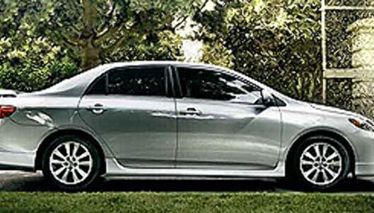 <strong>Nyeste Toyota Corolla:</strong> Ca. 80.000 kroner ny med 1,8-liters motor på 135 hester.