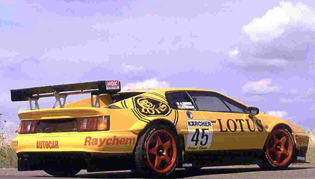 Racing-rigget Lotus Esprit GT2 (1995)