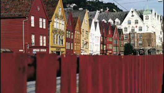 Bryggen i Bergen er gratis - og et must å få med seg. Foto: Gaby Bohle/Innovasjon Norge