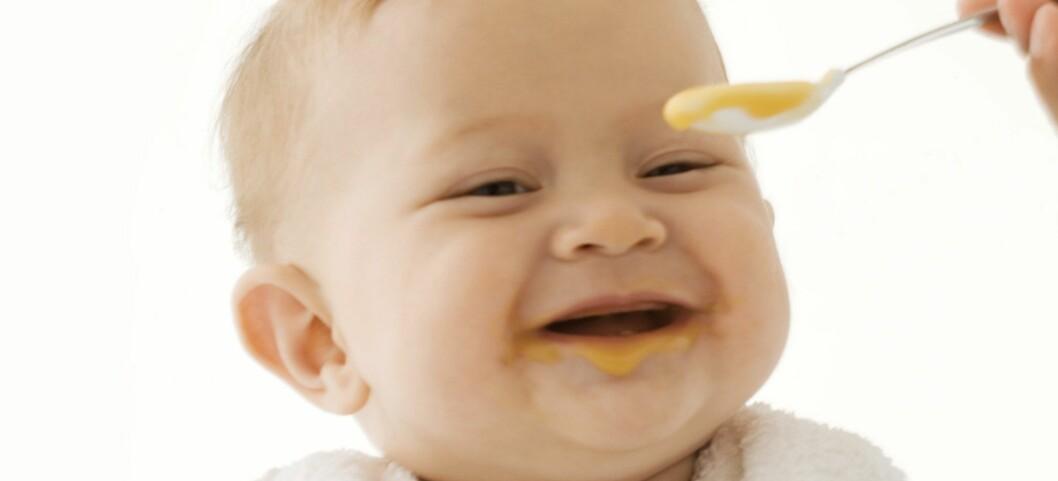 Ikke være redd for å putte til ekstra fett i barnematen. Illustrasjonsfoto: Colourbox.com