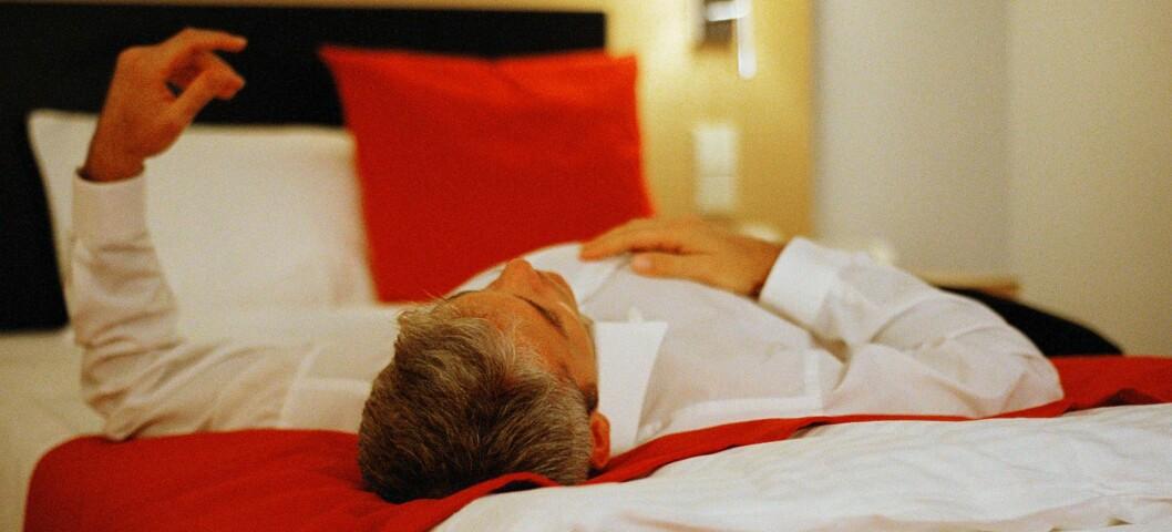 Klarer du ikke å komme deg ut av senga om morgenen? Da kan du trøste deg med at latskapen ligger i genene dine. Illustrasjonsfoto: colourbox.com  Foto: colourbox.com