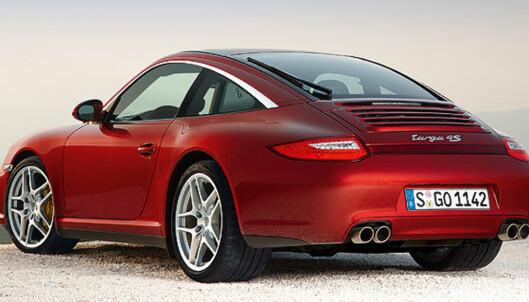 Store bilder av Porsche 911 Targa