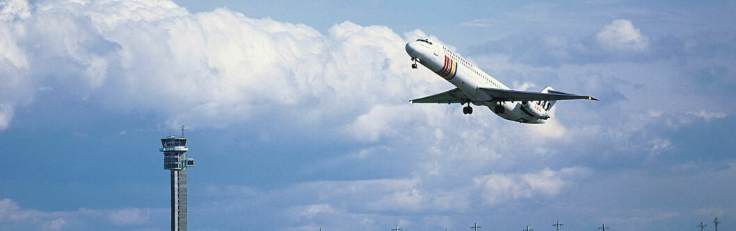 Alt skal gå som smurt med SAS, selv om Lufthansa streiker. Foto: Oslo Lufthavn