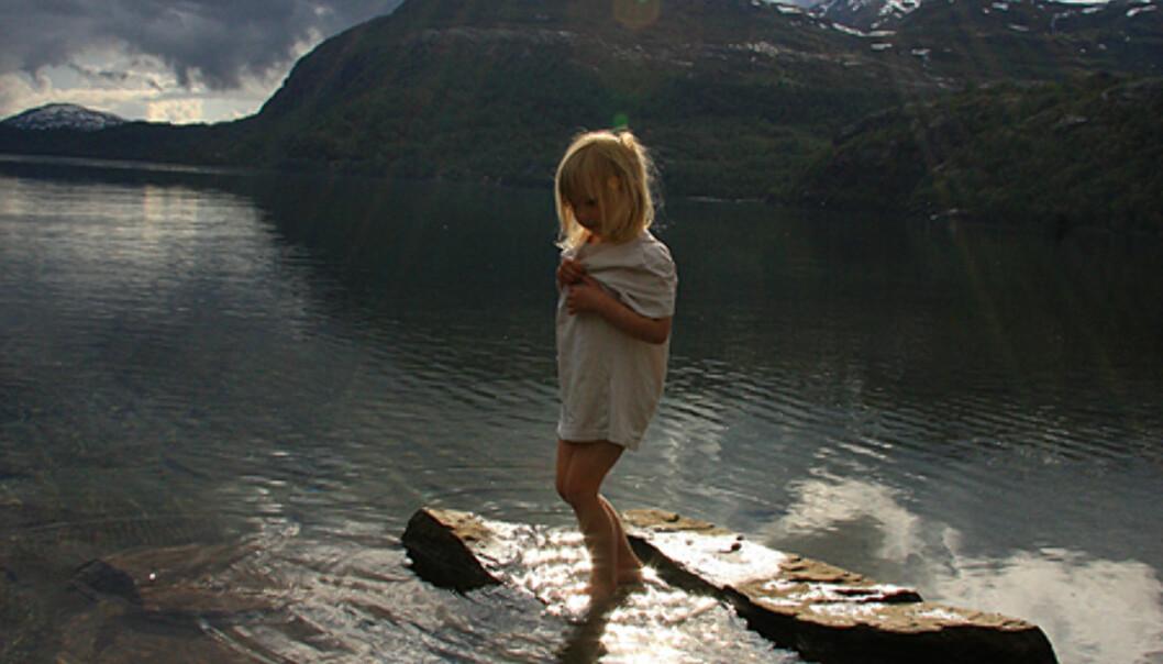 Jesuslys i Hardanger.  Foto: Hege Linn Nilsen