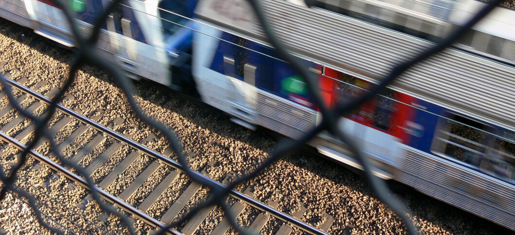 Enkelte toglinjer i England er elektriske og kan være livsfarlige. Illustrasjonsfoto: Colourbox