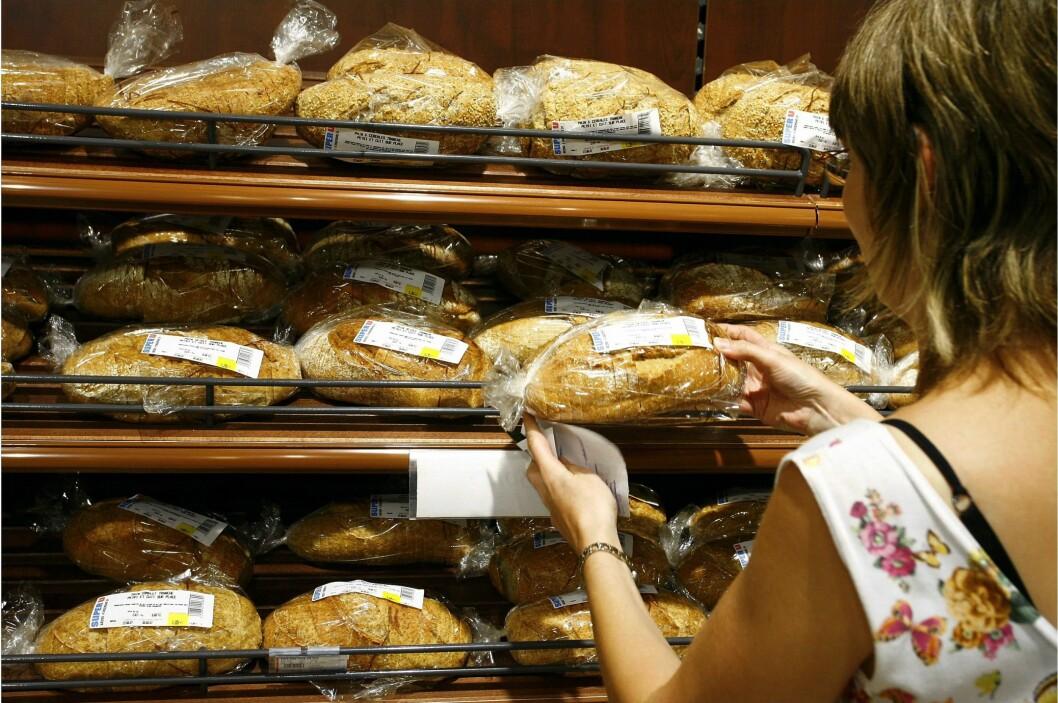 Brødvarer er blant de varene som har gått mest opp i pris det siste året. Foto: Colourbox.com