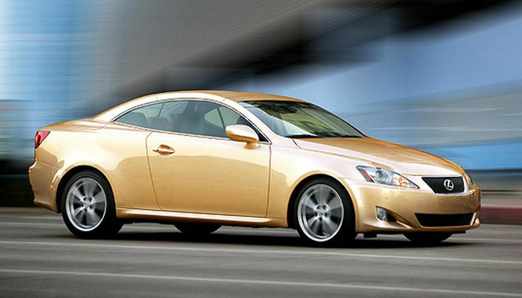 Lexus IS kabriokupé