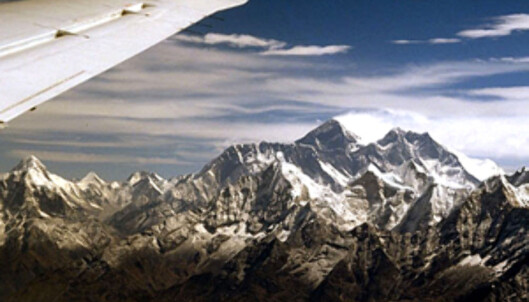 På vei opp over Mount Everest... Foto: incredible-adventures.com