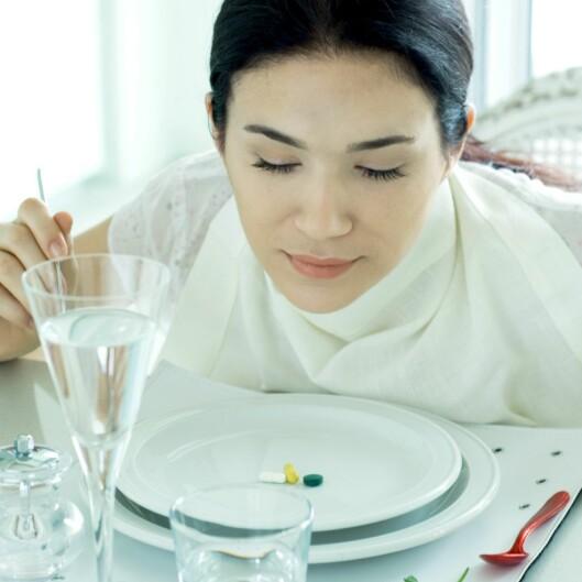 Fullt så langt trenger du ikke gå i å begrense porsjonene dine... Illustrasjonsfoto: Colourbox.com Foto: 6PA/MAXPPP