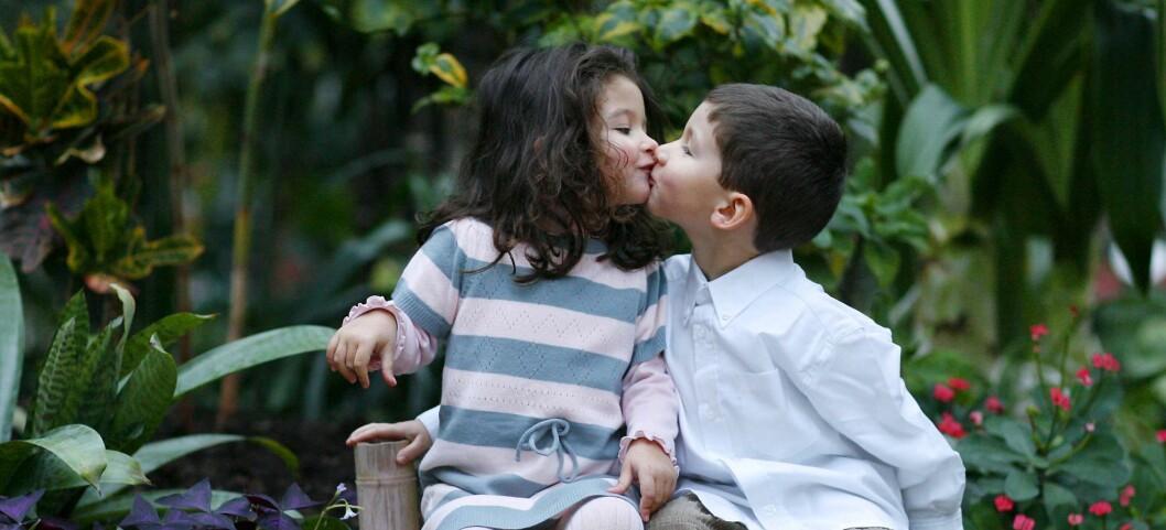 Man skal tidlig krøkes. Lær barn om sex, så får de et sunnere forhold til det senere, mener eksperter. Illustrasjonsfoto: colourbox.com  Foto: Foto: colourbox.com