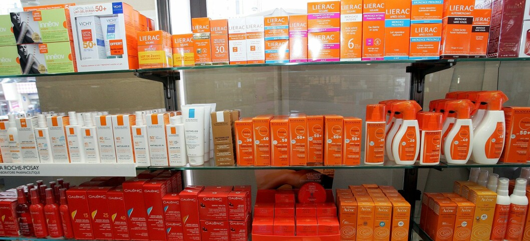To av ti solkremer på det norske markedet beskytter for dårlig mot UVA-stråler. Illustrasjonsfoto: Colourbox Foto: Illustrasjonsfoto: Colourbox