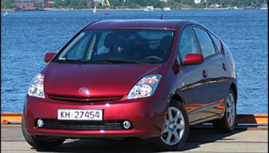 Dagens Toyota Prius.