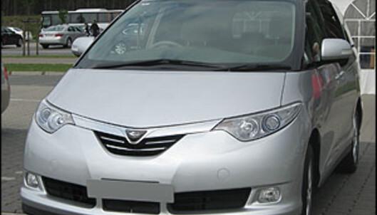 Toyota Estima Hybrid.