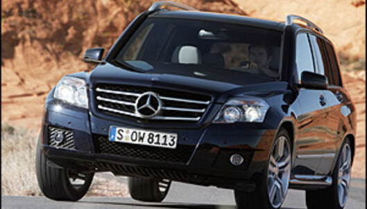 God pris på Mercedes SUV