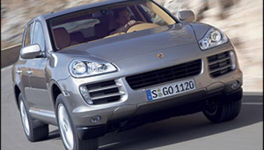 Porsche bekrefter diesel-Cayenne